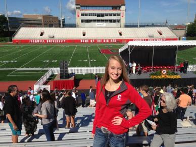 Hannah moves to Cornell University.