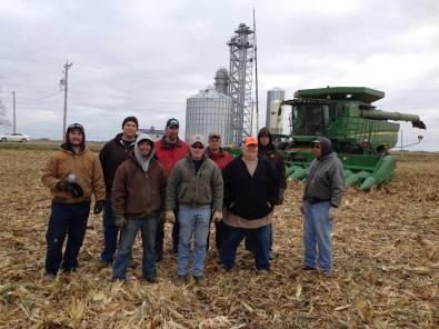 The harvest crew!