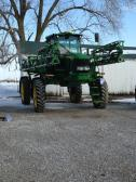 New sprayer.