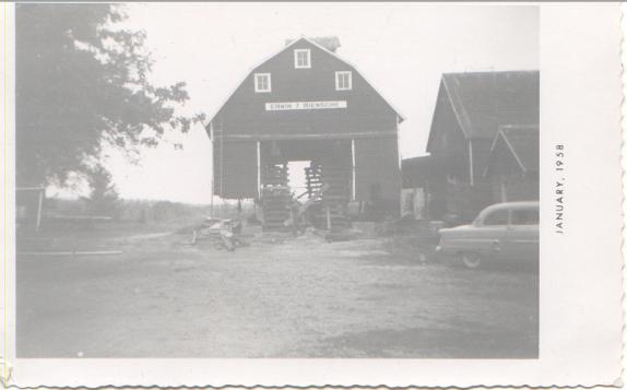 Erwin Riensche's barn.
