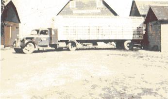 Grain truck.